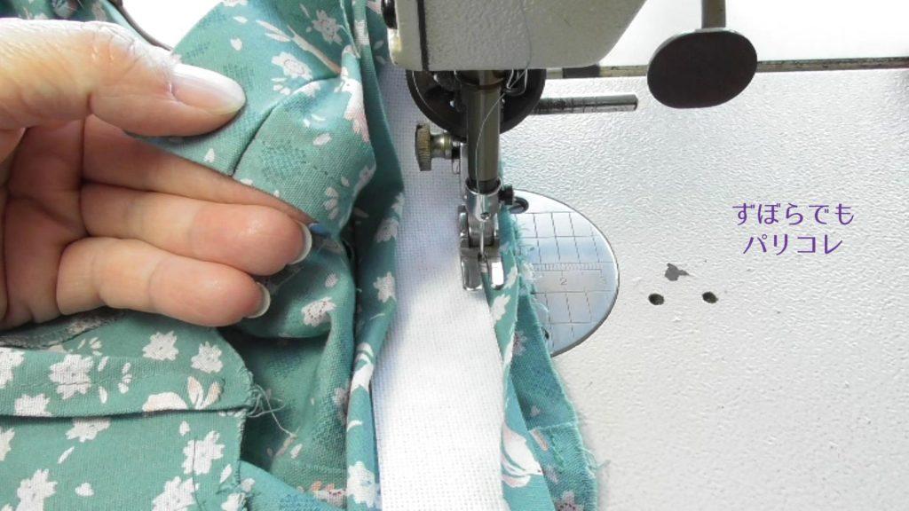 ベルト縫い