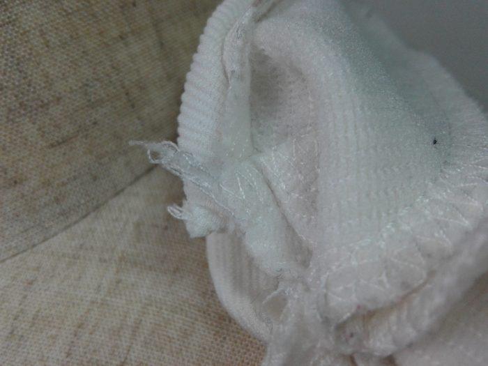 ブラウス縫い代