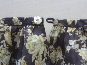 衿のパイピング