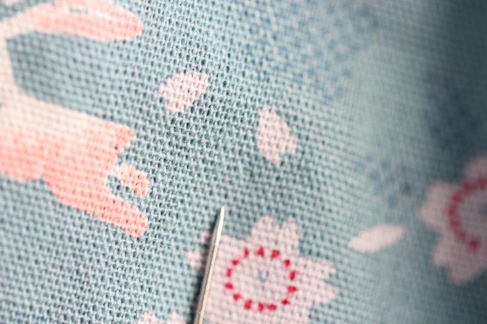 まつり縫い表側