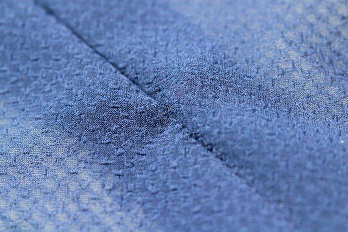 コンシールファスナーの返し縫いが悪くて、コンシールファスナーを正しく縫い付けても本体の縫い止まりが縮んでいるためコンシールファスナーが失敗したように見える|洋裁教室や独学でお悩みの方に最適な24時間自宅で学べる365回講座 ずぼらでもパリコレ