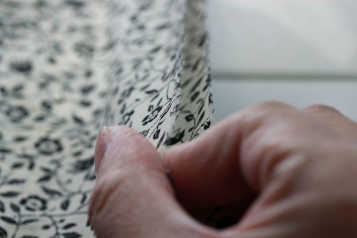 コンシールファスナーを縫う前に縫い付ける2枚の生地の長さが正しいか確認する|洋裁教室や独学でお悩みの方に最適な24時間自宅で学べる365回講座⑤3mini