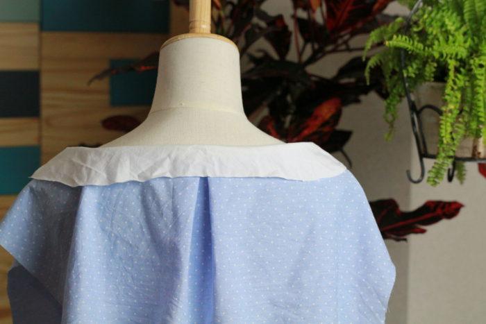 型紙を写し取る 仮縫い1